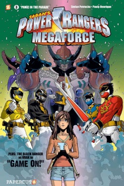 Power Rangers Megaforce 3: Panic in the Parade (Hardcover)