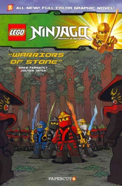 Lego Ninjago Masters of Spinjitzu: Warriors of Stone (Paperback)
