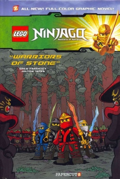 Lego Ninjago Masters of Spinjitzu 6: Warriors of Stone (Hardcover)