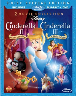 Cinderella II: Dreams Come True & Cinderella III: A Twist In Time (Blu-ray Disc)