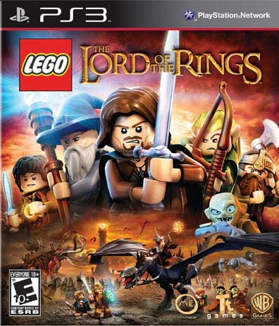 PS3 - LEGO Lord of the Rings