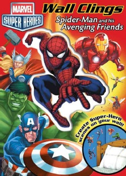 Spider-Man and His Avenging Friends: Wall Clings (Paperback)