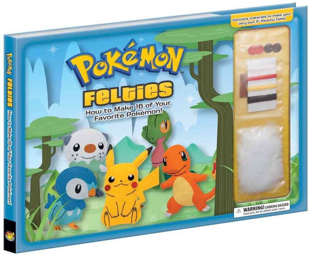 Pokemon Felties: How to Make 16 of Your Favorite Pokemon! (Hardcover)