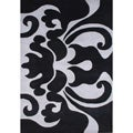 Alliyah Hand-made Black New Zealand Blend Area Rug (8 x 10)