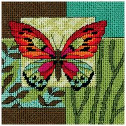 Butterfly Impression Mini Needlepoint Kit-5