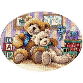 "Gold Collection Petite Warm & Fuzzy Counted Cross Stitch Kit-7""X5"""