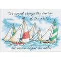 Adjusting Our Sails Mini Counted Cross Stitch Kit-7