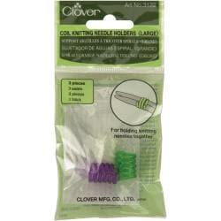 Large Coil Knitting Needle Holder-3/Pkg
