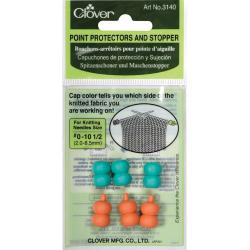 Point Protectors And Stopper-For Sizes 0-10.5 Three Pair