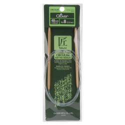 "Bamboo Circular Knitting Needles 48""-Size 8"