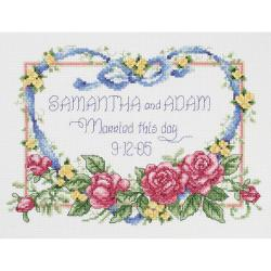 Married This Day Counted Cross Stitch Kit