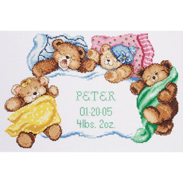 Down For A Nap Counted Cross Stitch Kit