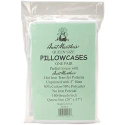 """Pillowcase Pair - Queen 20""""X37""""-White"""