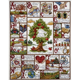 Families ABC Sampler 16 x 20 Counted Cross Stitch Kit