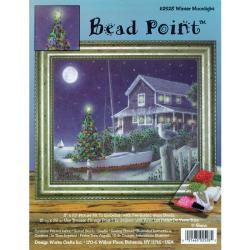 "Winter Moonlight Bead Point Kit-8""X10"" Printed"
