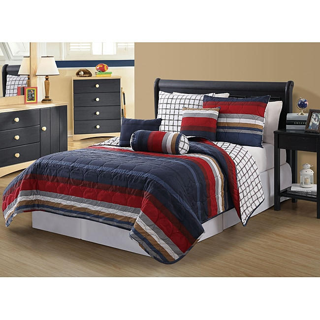 Hampton 6-piece Quilt Set