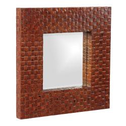 Duncan Latticed Mirror