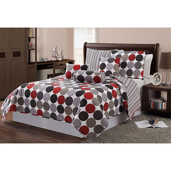 VCNY Orbit 6-piece Quilt Set