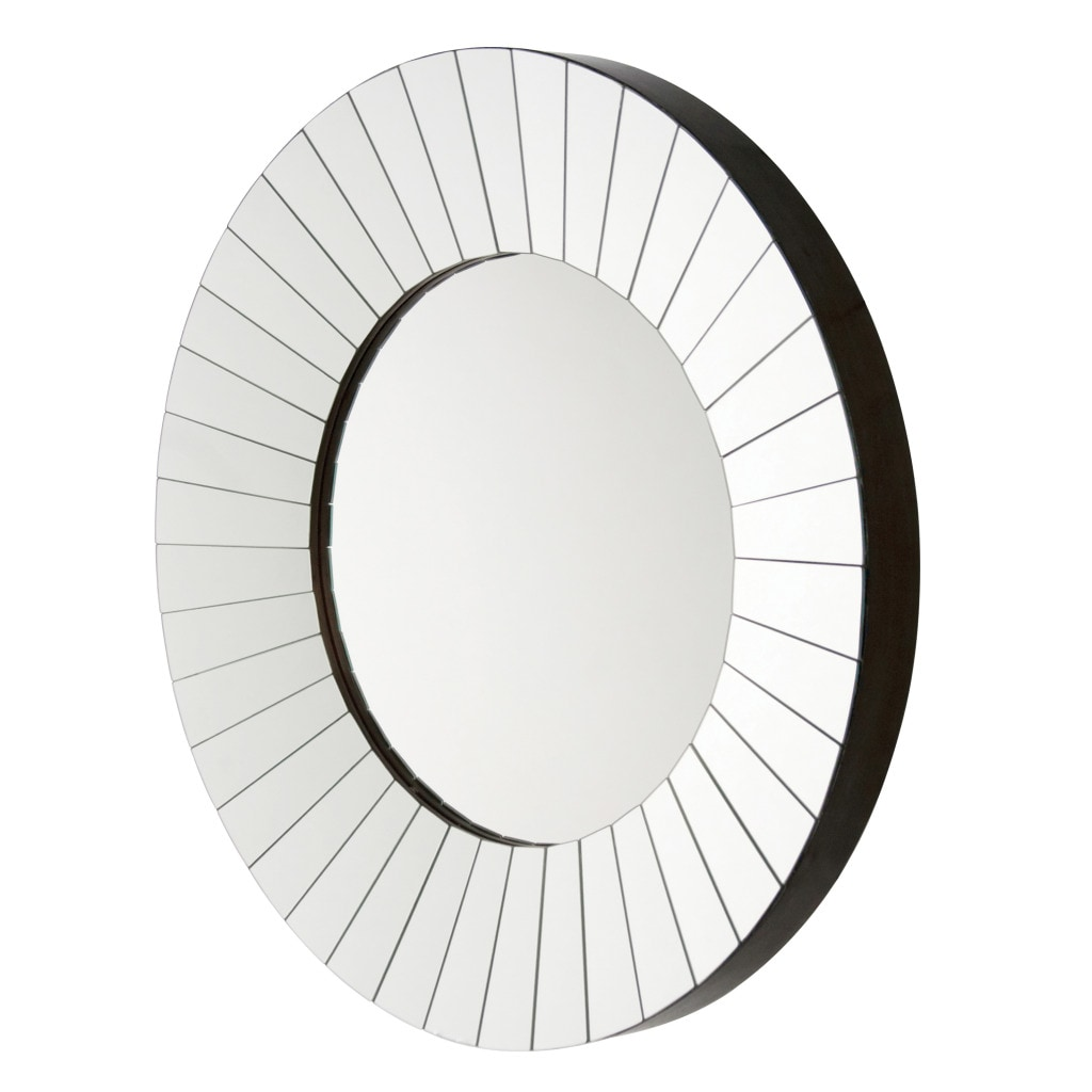 Roulette Round Panel Mirror