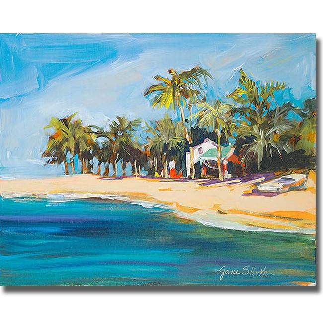 Jane Slivka 'Havana Nights' Canvas Art