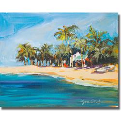 Jane Slivka 'Havana Nights' Canvas Art