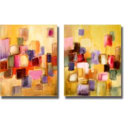 Lanie Loreth 'Sonata I and II' 2-piece Canvas Art Set