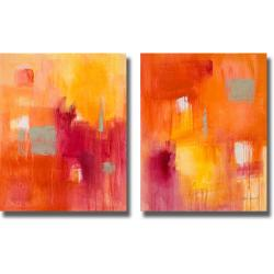 Lanie Loreth 'Summer Song I and II' 2-piece Canvas Art Set
