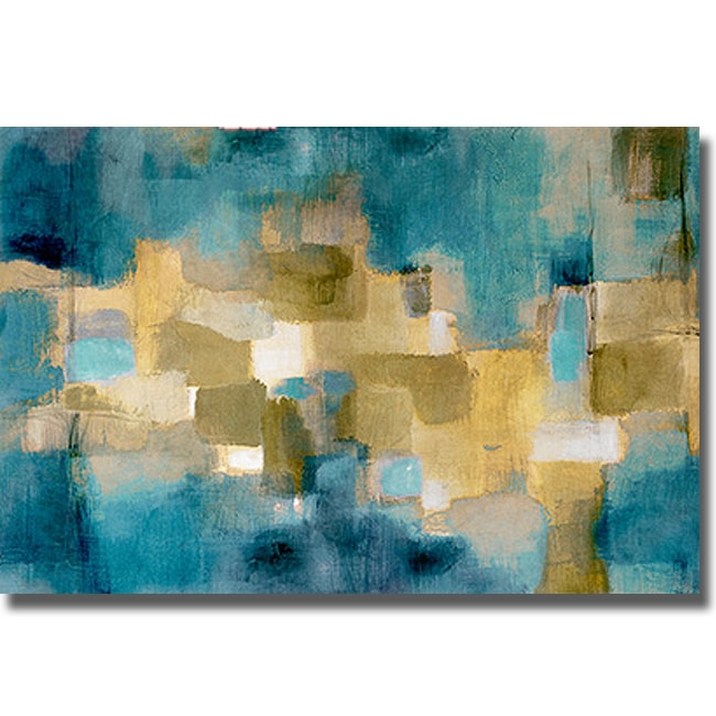 Lanie Loreth 'Downtown Blue Sky' Canvas Art