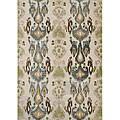 Alliyah Handmade Parrot Green New Zealand Blend Wool Rug (5 x 8)