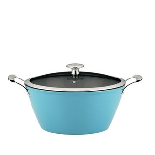 Mario Batali by Dansk 'Mario Light' Turquoise 3-quart Round Cast Iron Casserole