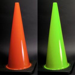Equicross 28-inch Stain-resistant Impact Flex PVC Traffic Safety Cone
