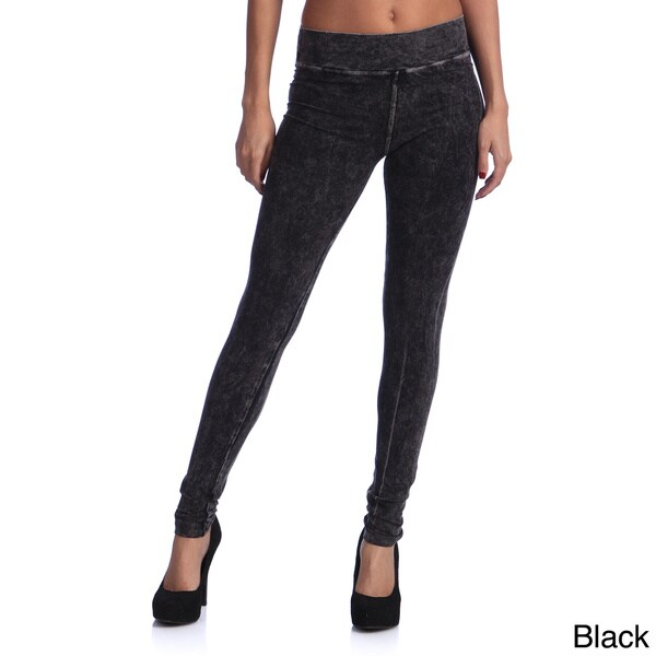 Tabeez Women's Sparkle Pocket Stretch Yoga Pants