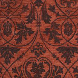 Woven Red Carron Bay Wool and Nylon Rug (5' x 7'6)