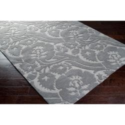 Hand-tufted Gray Garavogue New Zealand Wool Rug (5' x 8')