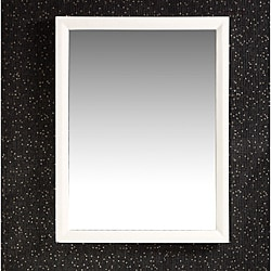 Oxford 22x30-inch White Vanity Decor Mirror