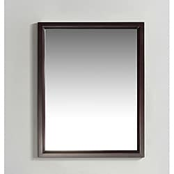 Oxford 22x30-inch Espresso Brown Vanity Decor Mirror