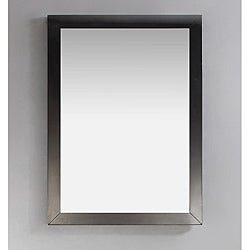 Windham 22 x 30 Black Bath Vanity Decor Mirror