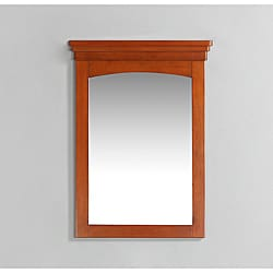 Windsor 22x30-inch Cinnamon Brown Bath Vanity Decor Mirror