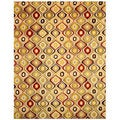 Hand-tufted Wool Retro Chic Rug (5' x 8')
