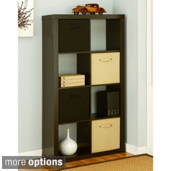 Contemporary Style Espresso Book/ Display Shelf