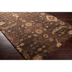 Hand-tufted Brown Ferus New Zealand Wool Rug (3'3 x 5'3)
