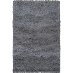 Candice Olson Hand-woven Gray Topary Wool Rug (8' x 11')