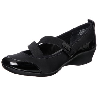 Anne Klein Women's 'By The Way' Black Flats FINAL SALE