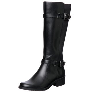 Anne Klein Women's Black 'Lissa' Knee-high Boots