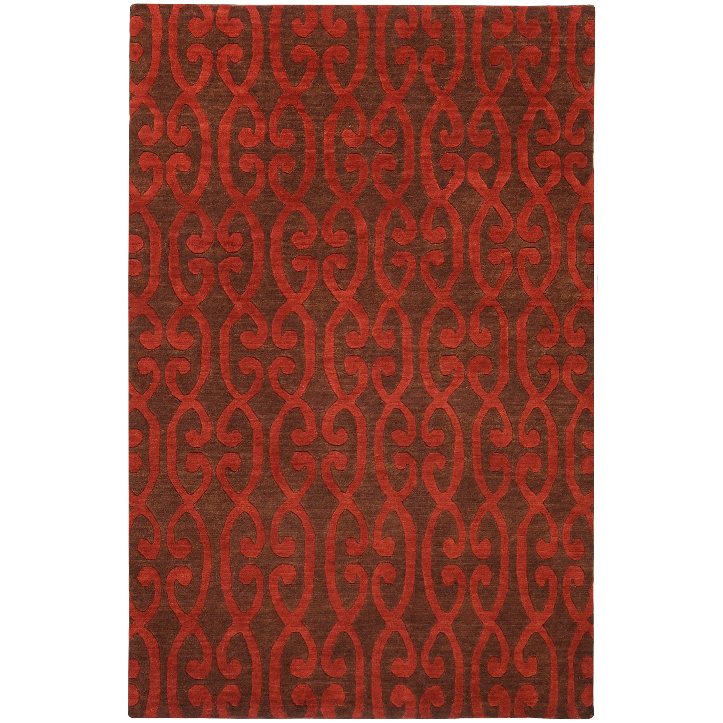 Hand-knotted Multicolored Eau Claire Wool Rug (2' x 3')