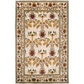 Hand-knotted Multicolored Ashland Wool Rug (5' x 8')