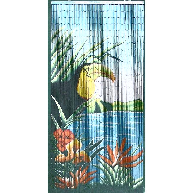 Toucan Bamboo Curtain (Vietnam)