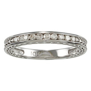 10k Gold 1/4ct TDW Diamond Wedding Band (K-L, I2-I3)