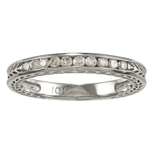 10k Gold 1/4ct TDW Diamond Wedding Band (K-L, I2-I3)
