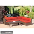 3 piece Wicker Conversation Sectional Set